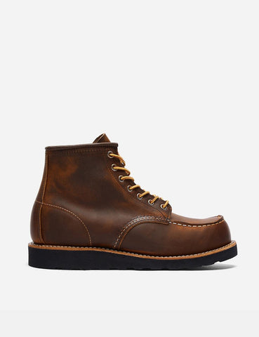 "Red Wing 6"" Moc Toe Stiefel (8886) - Copper Rough & Tough / Schwarz Traction Sole"