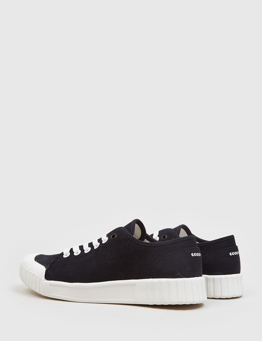Good News Bagger Low Trainer (Canvas) - Schwarz