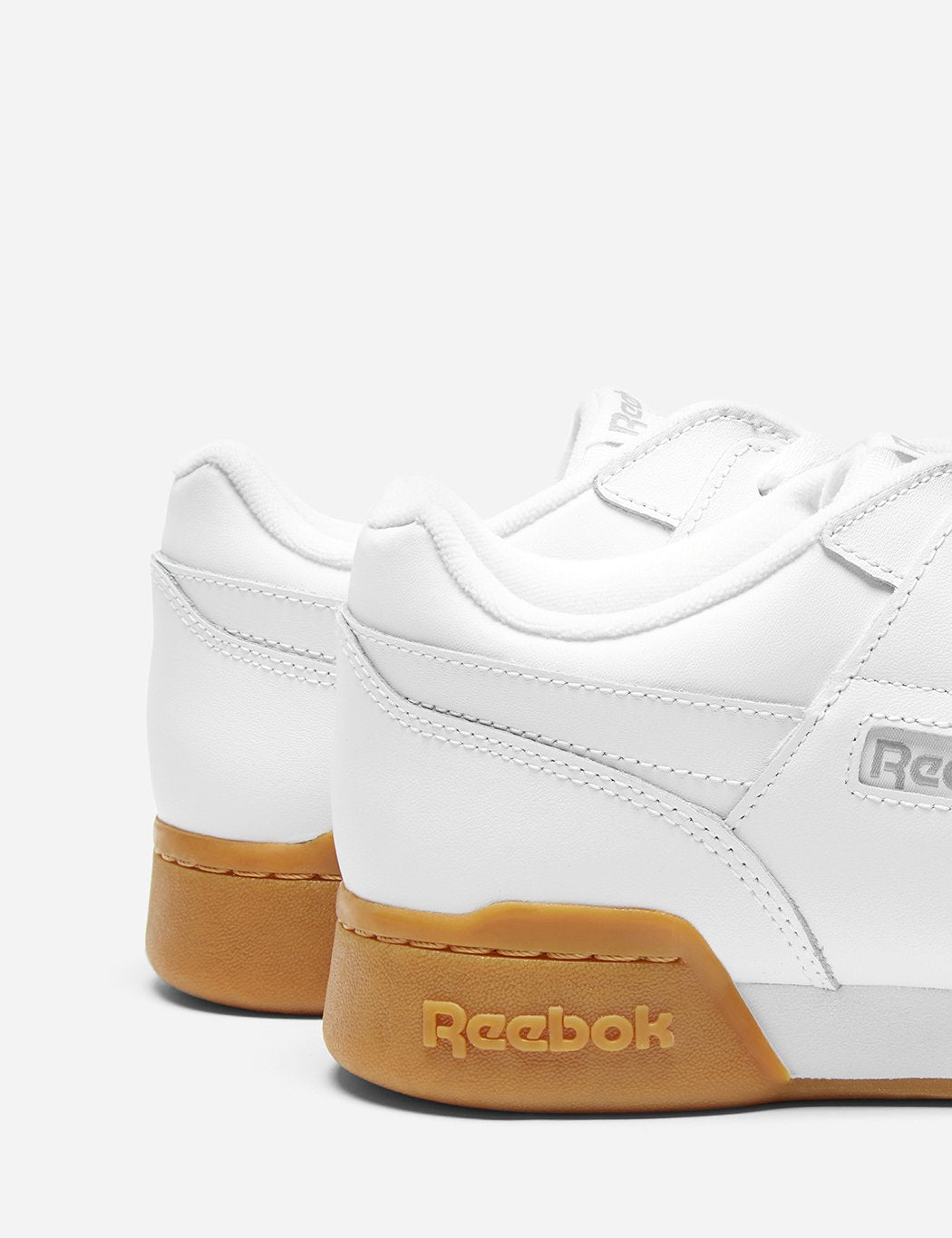 Reebok Workout Plus-Gum Sole (CN2126) - Weiß / Kohle / Classic Red