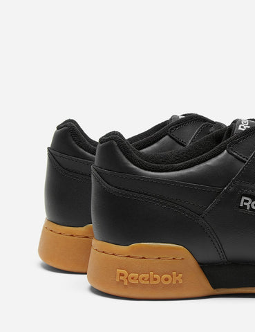 Reebok Workout Plus-Gum Sole (CN2127) - Schwarz / Kohle / Classic Red