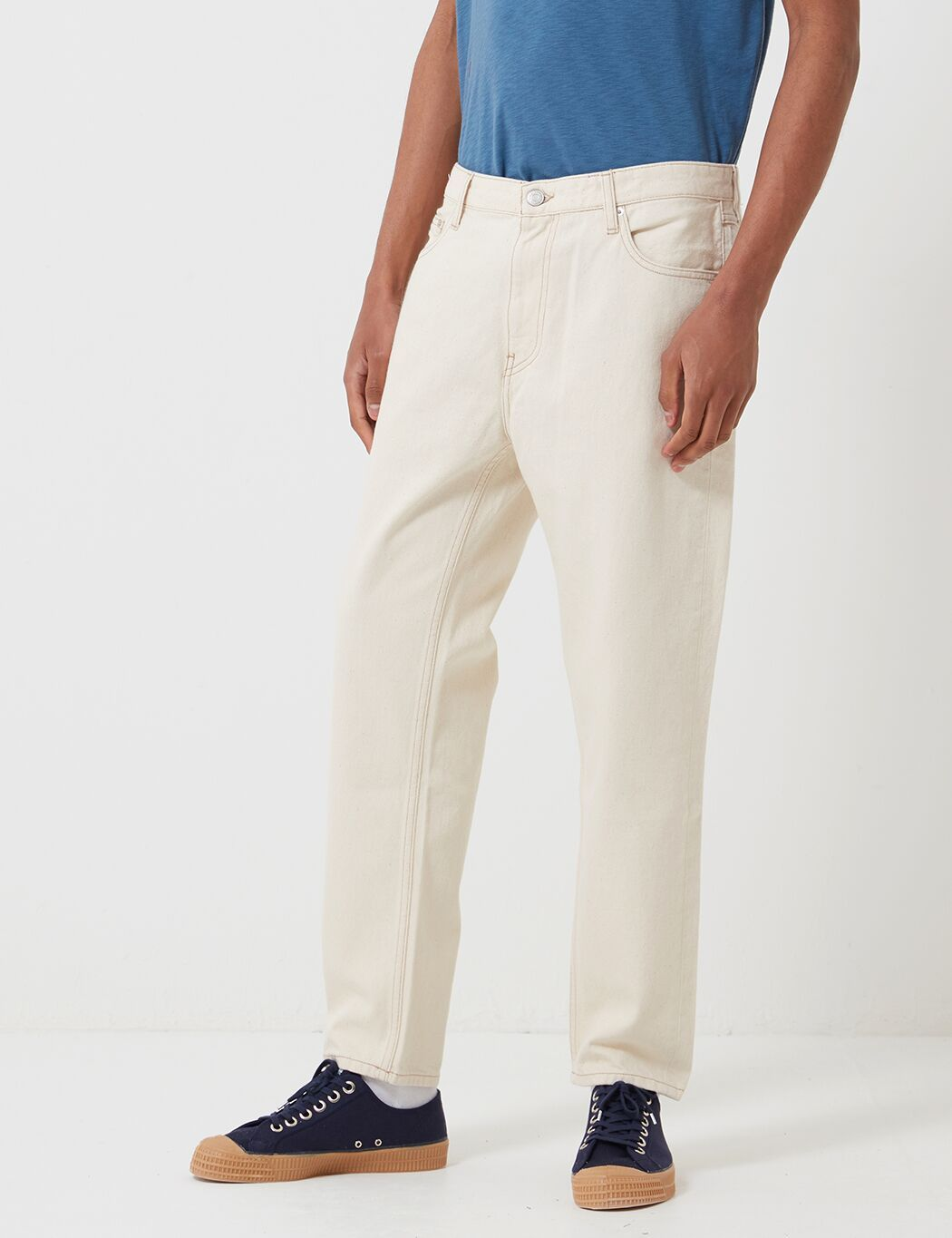 Tommy Jeans Dad Jeans (Straight Leg) - Arbeits Ecru Starre