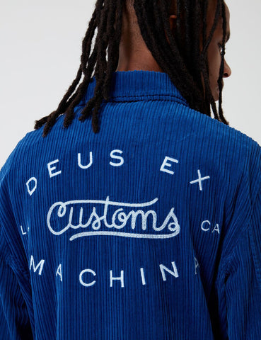 Deus Ex Machina Barrel Jacke - Dusty Blau