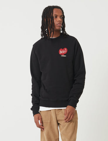 Deus Ex Machina Roving Sweatshirt - Schwarz