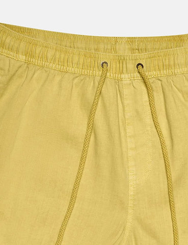 Deus Ex Machina Sandbar Garment Dye Shorts - Super Lemon