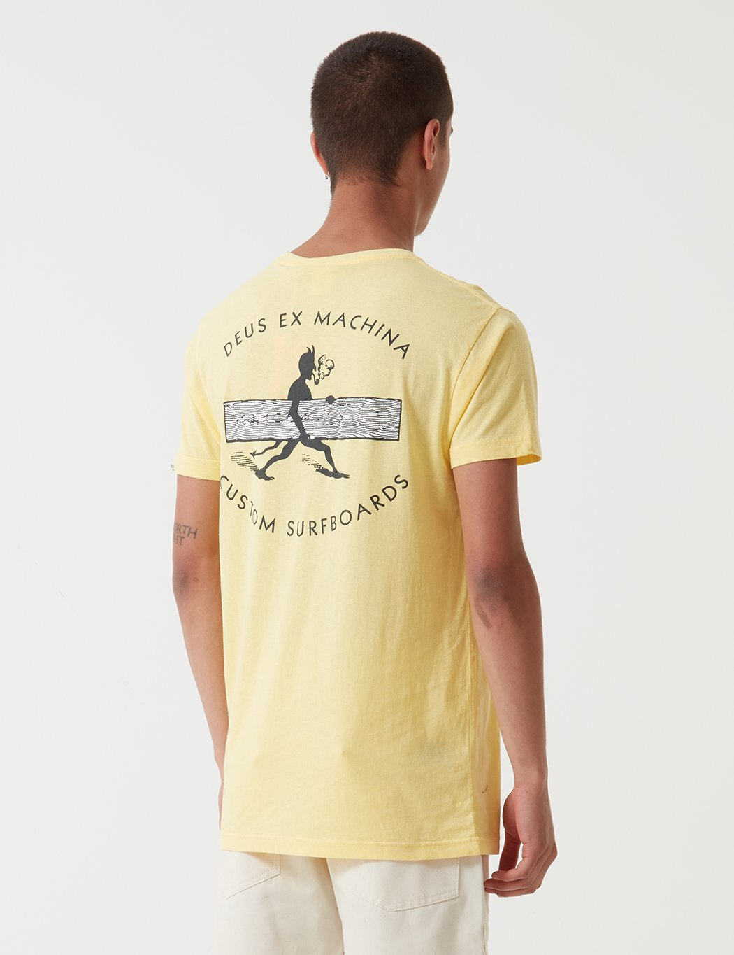 Deus Ex Machina Loggins T-Shirt - Gelb