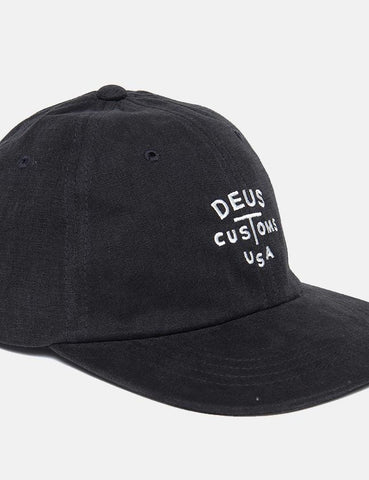 Deus Ex Machina Rolan Cap - Phantom Black