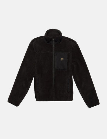 Deus Ex Machina Fletcher Fleece-Jacke - Schwarz
