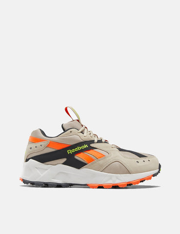 Reebok Aztrek 93 Adventure - Beige / True Gray / Solar orange