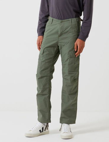 Carhartt-WIP Aviation Cargo Pant (Ripstop) - Dollar Grün Rinsed