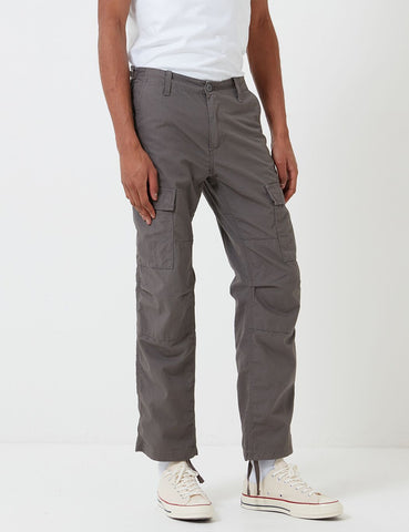 Carhartt-WIP Aviation Cargo Pant (Ripstop) - Air Force Grey Rinsed