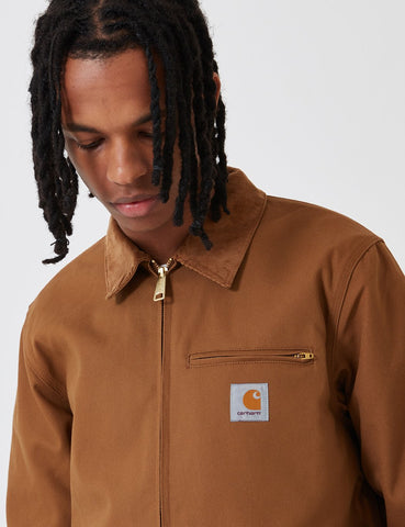 Carhartt Detroit Jacket - Hamilton Brown