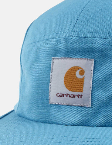 Carhartt-WIP Backley 5-Panel Cap - Pizol Blau