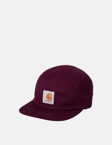 Carhartt-WIP Backley 5-Panel Cap - Merlot Red