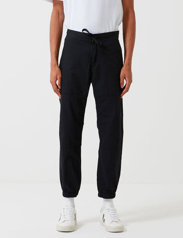 Carhartt-WIP Marshall Jogger Pant (Ripstop) - Schwarz Rinsed