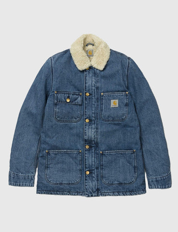 Carhartt Phoenix Coat (Denim) - Blue Stone Wash