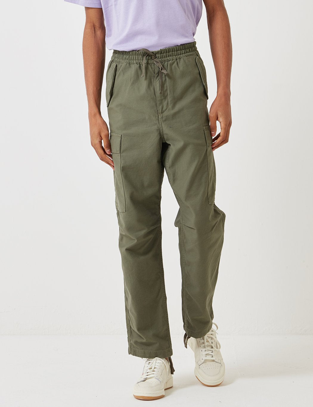 Carhartt-WIP Camper Pant (Stonewashed) - Rover Grün