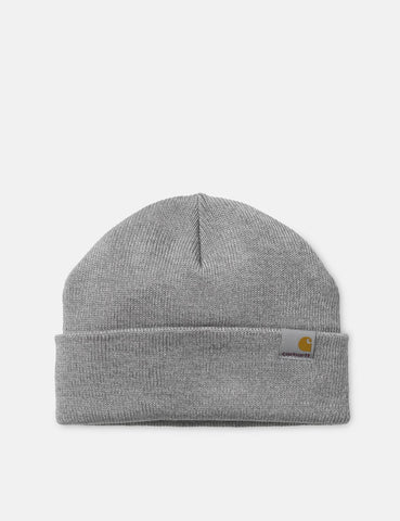 Carhartt-WIP Stratus Low Beanie Hat - Grau Heather