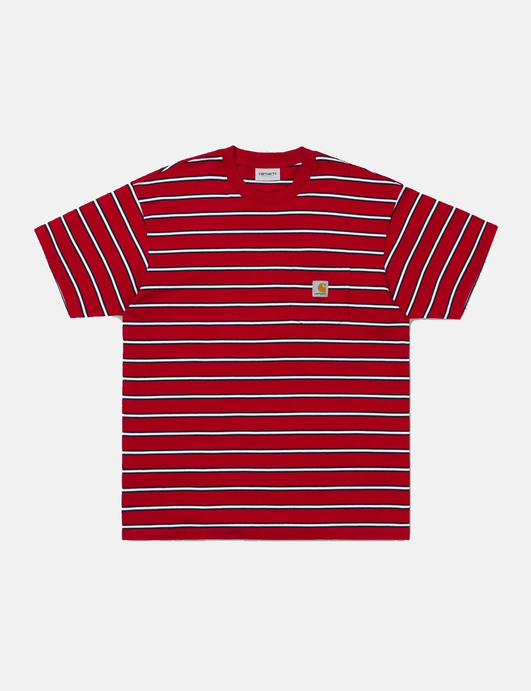 Carhartt-WIP Houston Taschen-T-Shirt - Cardinal Red