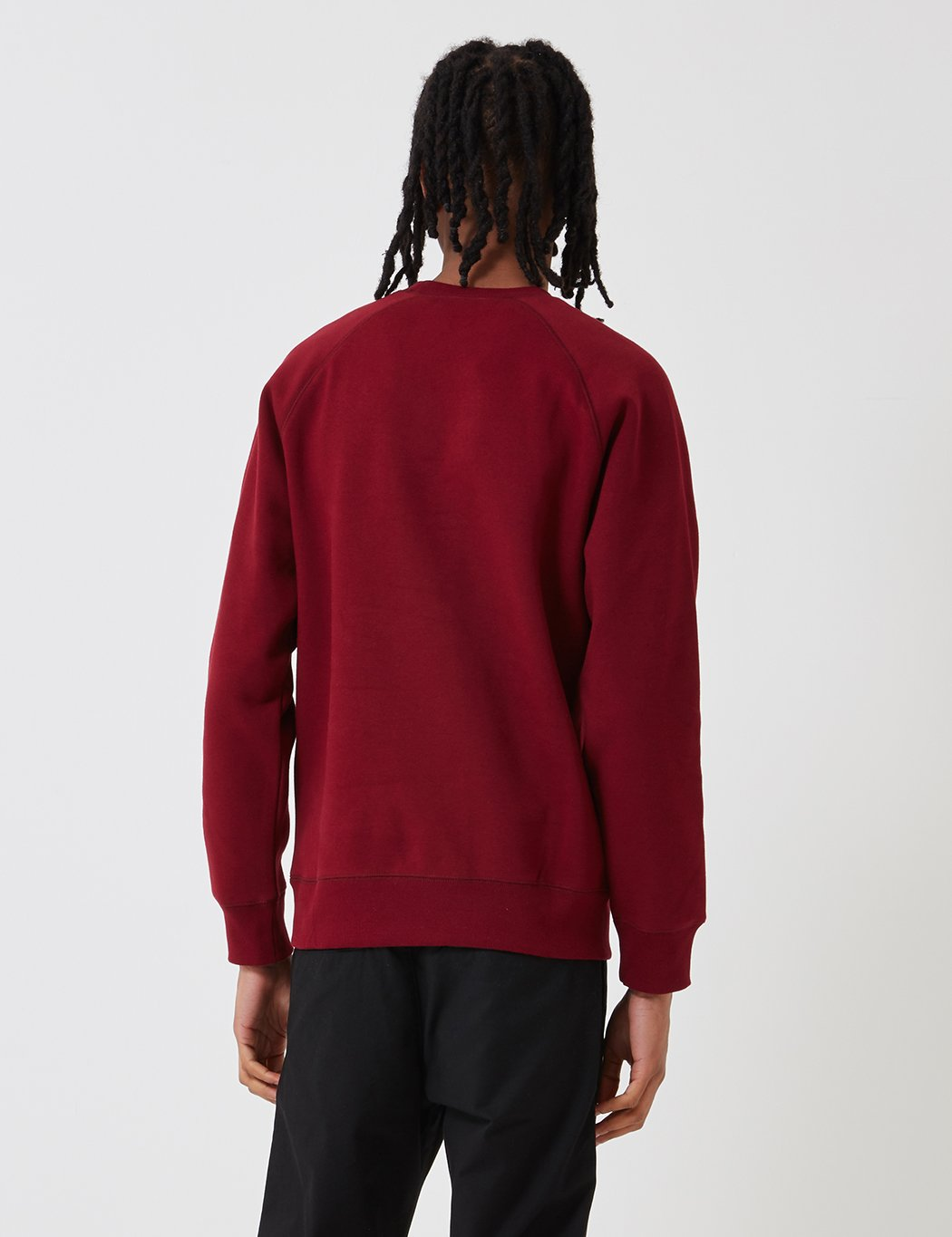Carhartt-WIP Chase Sweatshirt - Cranberry Red