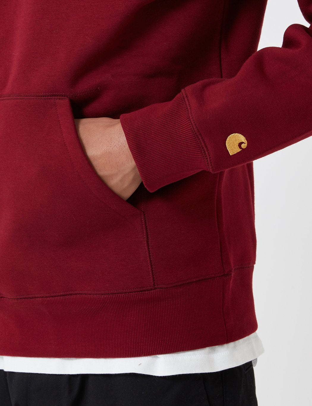 Carhartt-WIP Chase T-Shirt - Cranberry Red