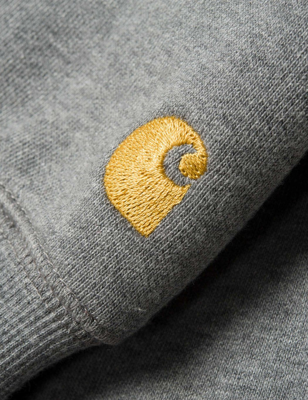 Carhartt-WIP Chase T-Shirt - Dunkelgrau Heather