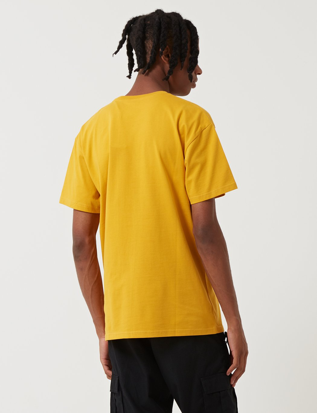 Carhartt-WIP Chase T-Shirt - Quitte Gelb