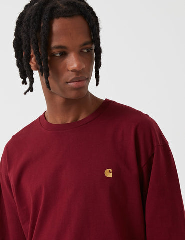 Carhartt-WIP Chase T-Shirt - Mulberry