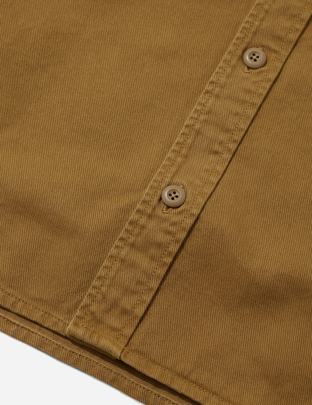 Carhartt-WIP Reno Hemd (Overdyed Denim) - Hamilton Brown