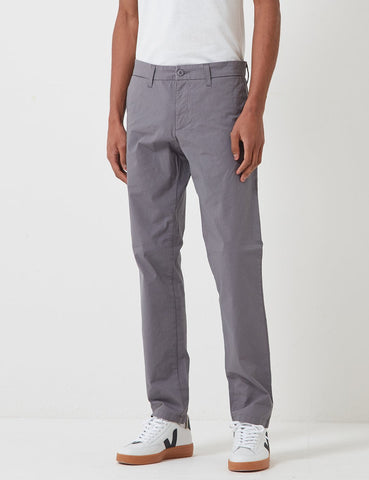 Carhartt-WIP Sid Pant Chino (Stretch Popeline) - Shiver Rinsed