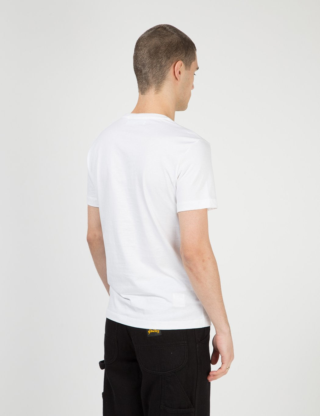 Calvin Klein Multi Institutional Box T-Shirt - Weiß