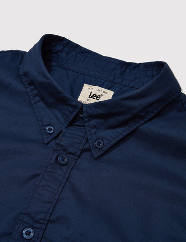 Lee Button Down Shirt - Deep Indigo
