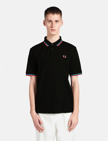 Fred Perry Made in Japan-Polo-Hemd - Schwarz