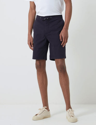 Barbour Bay Ripstop Shorts - Marine-Blau