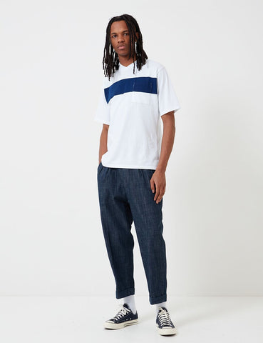 Barbour Thurso Denim Hosen (White Label) - Indigo Blue