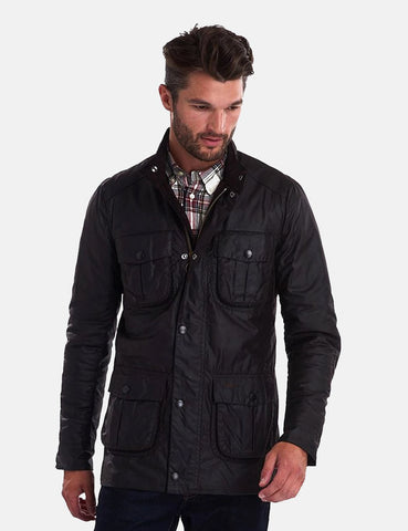 Barbour Corbridge Wachsjacke - Rustic Brown