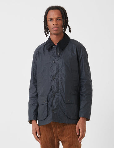 Barbour Leicht Ashby Wax - Royal Navy Blau