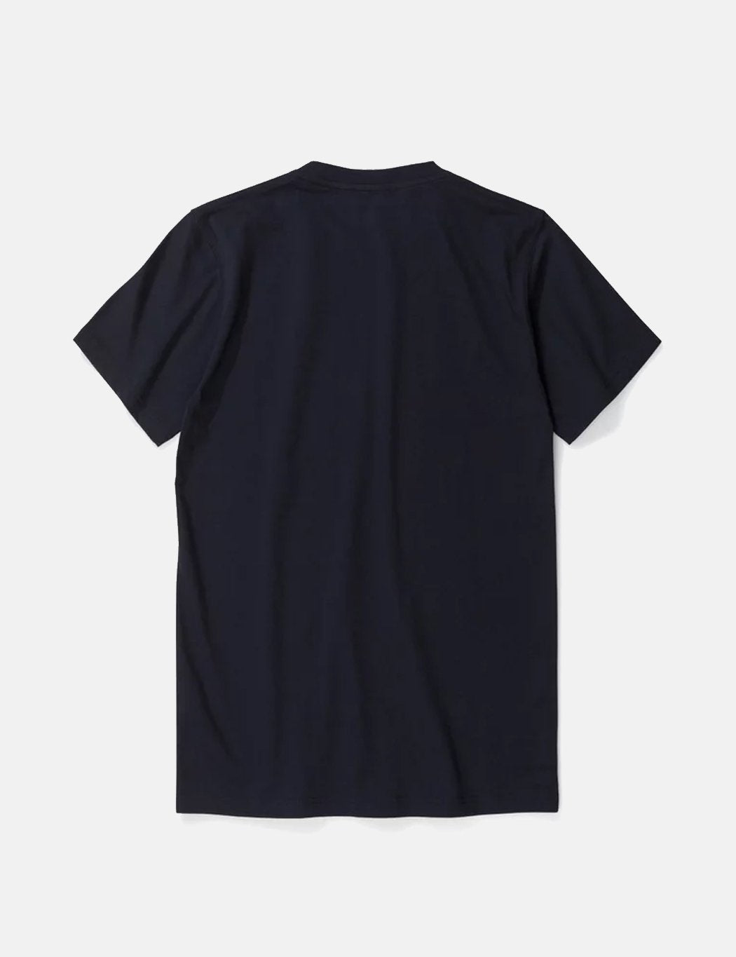 Norse Projects Niels Standard-Logo Patch T-Shirt - Dark Navy Blau