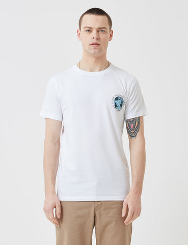 Norse Projects Niels Globe-Logo-T-Shirt - Weiß