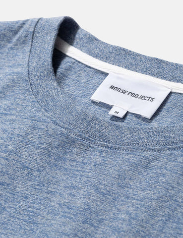 Norse Projects Niels Organic Mouline T-Shirt - Stonewashed