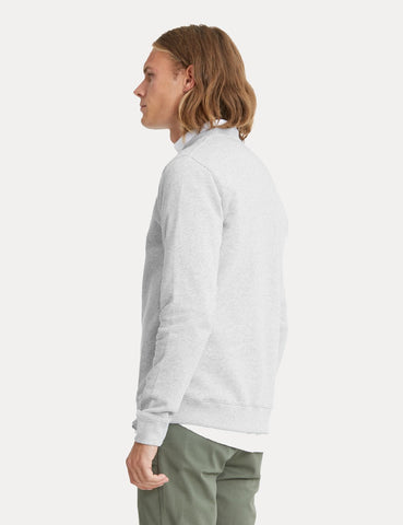 Norse Projects Vagn Klassisches Sweatshirt - Hellgrau Melange