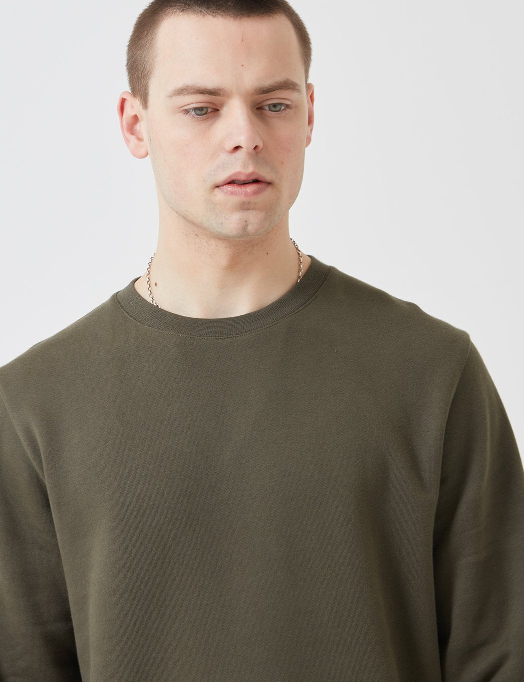Norse Projects Vagn Klassisches Sweatshirt - Ivy Green