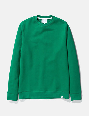 Norse Projects Vagn Klassisches Sweatshirt - Sporting Grün