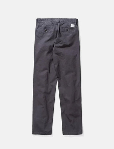 Norse Projects Aros Schweres Chino (Regular) - Schiefer-Grau