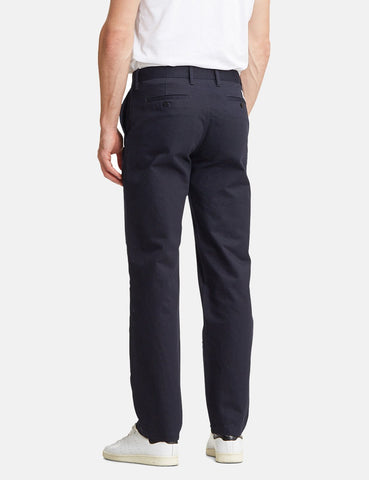 Norse Projects Aros Schwere Chino (Regular) - Dark Navy Blau