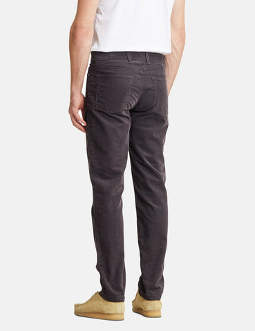 Norse Projects Edvard Licht Corduroy Chino - Magnet Grau