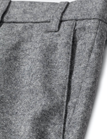 Norse Projects Aros Chino (Wolle) - Charcoal Melange