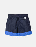 Norse Projects Hauge Block-Badeshorts - Dark Navy