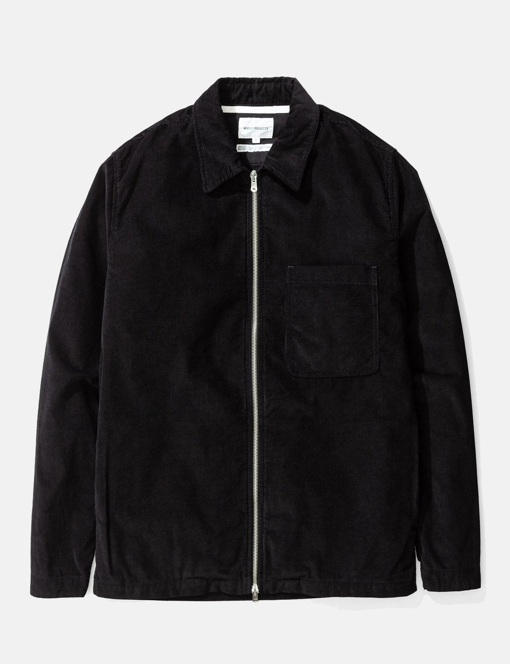 Norse Projects Jens Cord Over - Schwarz