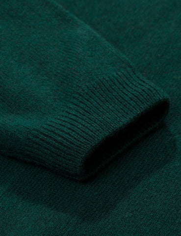 Norse Projects Sigfred Knit Sweatshirt (Wolle) - Quarz-Grün
