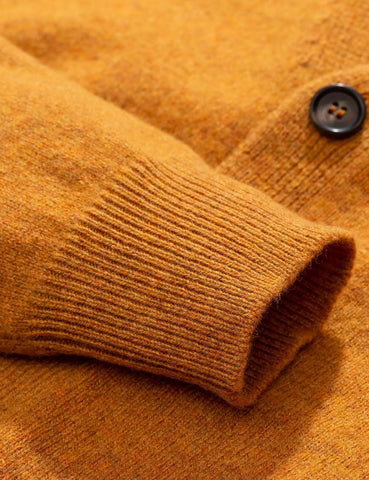 Norse Projects Adam Cardigan (Wolle) - Montpellier Gelb